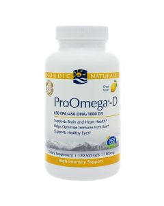 ProOmega-D 1000 mg 180 soft gels