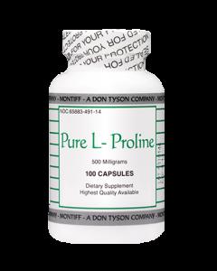 Pure L-Proline 500 mg 100 caps Montiff