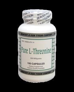 Pure L-Threonine 500 mg 100 caps Montiff