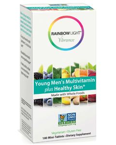 Young Men's Multivitamin plus Healthy Skin