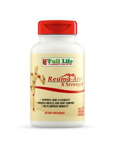 Reuma-Art Extra Strength 120 Vegetable Capsules Full Life