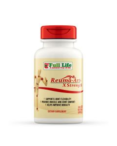 Reuma-Art Extra Strength 60 Vegetable Capsules Full Life