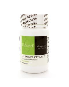 Selenium Citrate 60 vcaps Davinci Labs