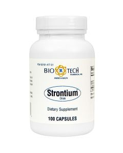 Strontium Citrate 300 mg 100 caps Bio-Tech