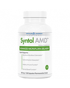 Syntol AMD Advanced Microflora Delivery 180 caps by Arthur Andrew Medical