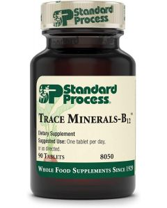 Trace Minerals-B12 90 tabs Standard Process