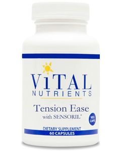 Tension Ease with SENSORIL 60 caps by Vital Nutrients