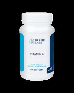 Vitamin A 25000 IU Klaire Labs