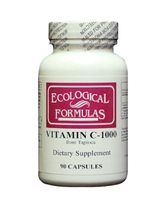 Vitamin C-1000 from Tapioca 90 caps Ecological Formulas / Cardiovascular Research