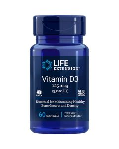 Vitamin D3 5,000 UI 60 sgles Life Extension