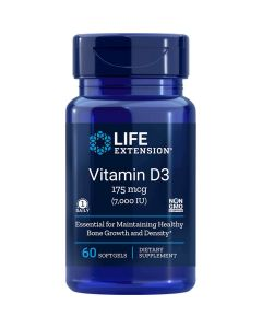 Vitamin D3 7,000 UI 60 sgles Life Extension