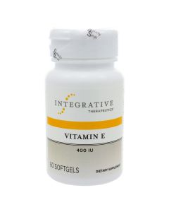 Vitamin E 400 IU 60 sgels Integrative Therapeutics