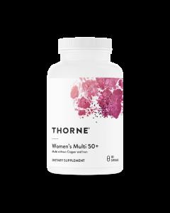 Women's Multi 50+ 180 caps Thorne Research