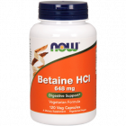 Betaine HCl 648 mg 120 caps by NOW Foods
