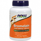 Bromelain 2400 GDU/g 500mg 120 vcaps by NOW Foods