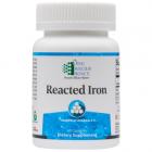 Reacted Iron 60 caps Ortho Molecular