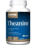 Theanine 200 mg 60 caps Jarrow Formulas