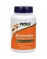 Bromelain 2400 GDU/g 500mg 120 vcaps by NOW Foods