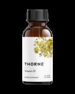 Vitamin D Liquid 1oz (30ml) Thorne Research